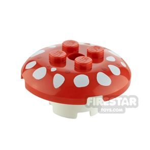 Custom Design Toadstool Small Red and White