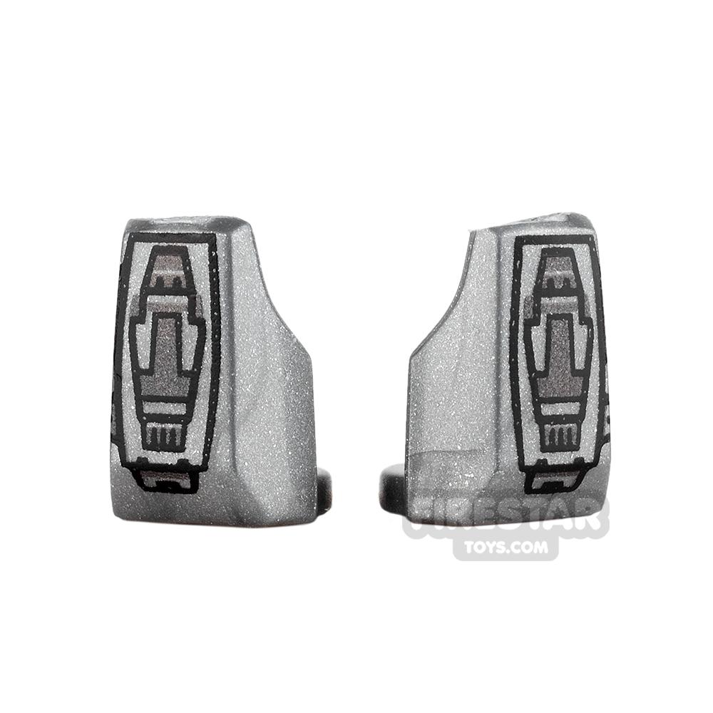 Arealight - Vambraces - VIZ - Pair - Silver