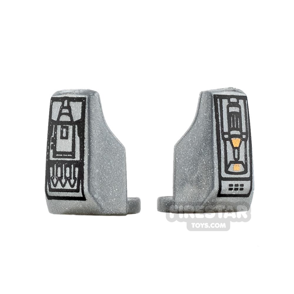 Arealight - Vambraces - Fett - Pair - Silver
