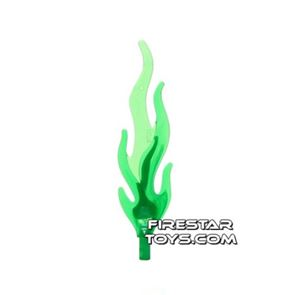LEGO - Giant Flame - Trans Green