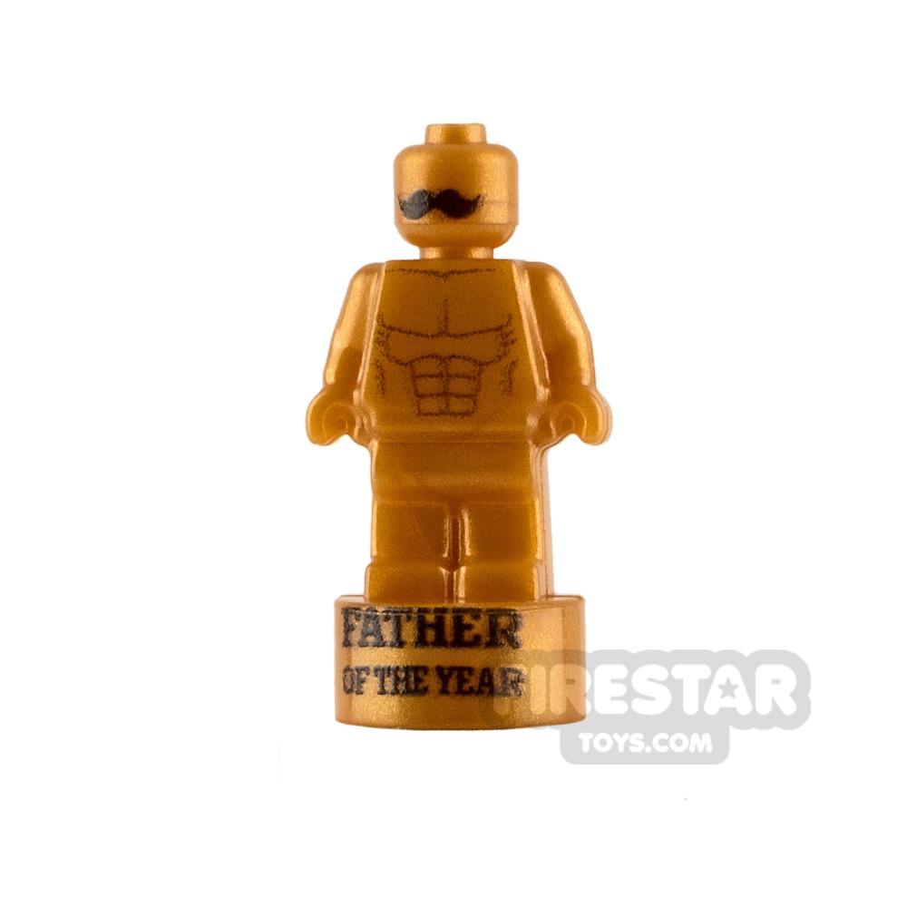 Custom Design Nanofigure Statuette Father of the Year