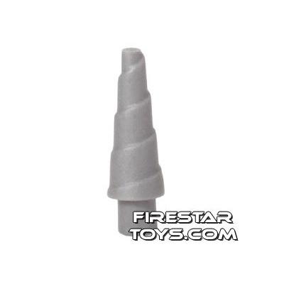 LEGO - Unicorn Horn - Flat Silver