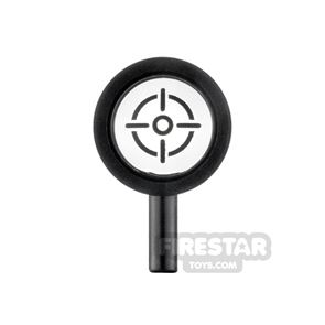 LEGO Magnifying Glass with Crosshairs