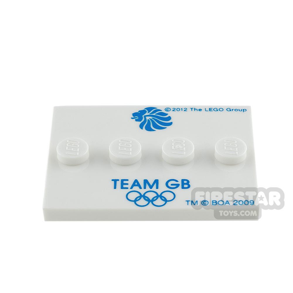 LEGO - Mini Figure Stand - Team GB Olympics