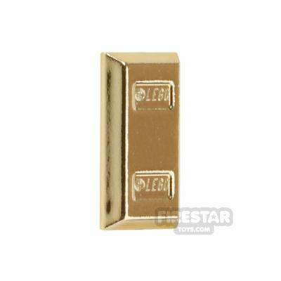 LEGO - Ingot - Chrome Gold