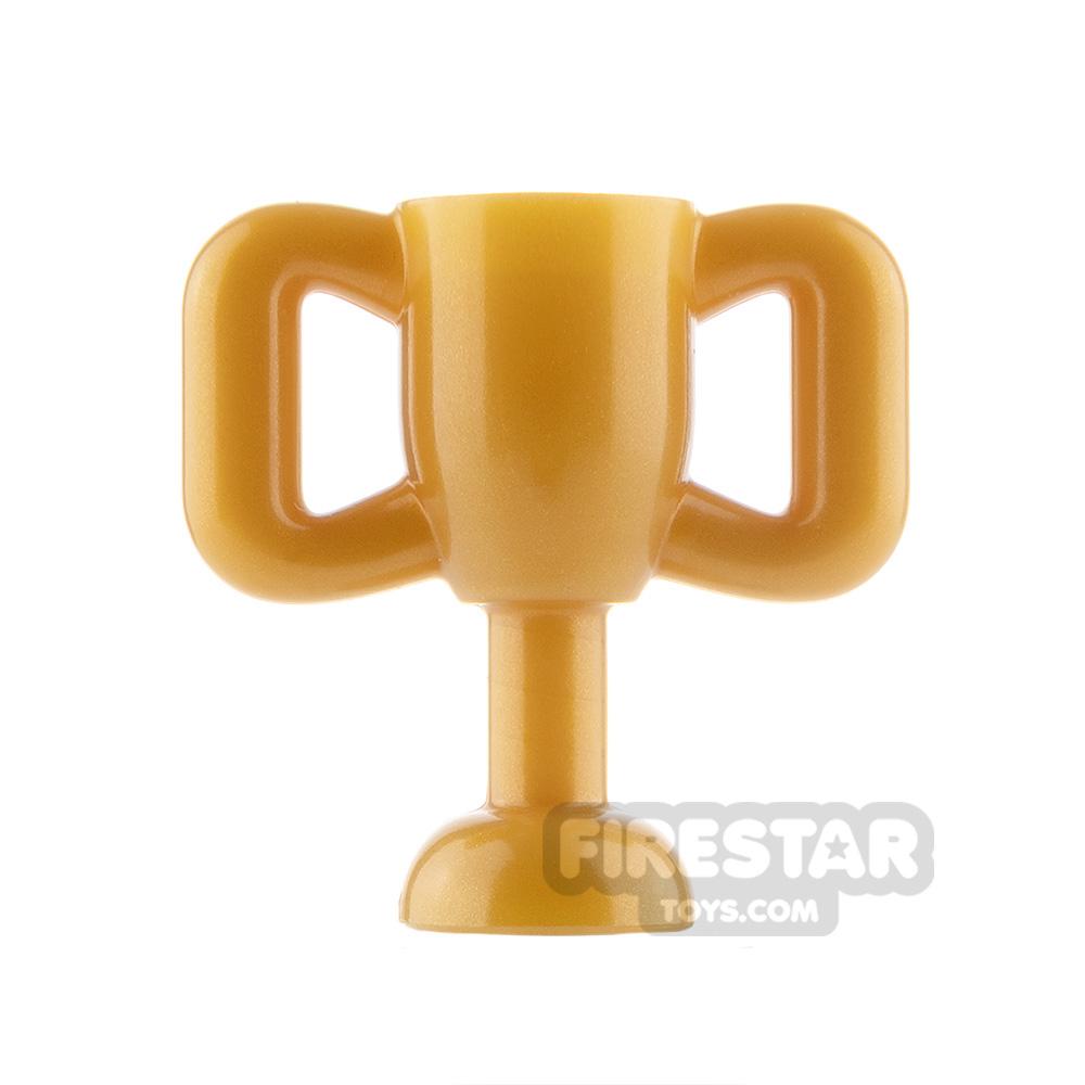 LEGO - Trophy - Pearl Gold
