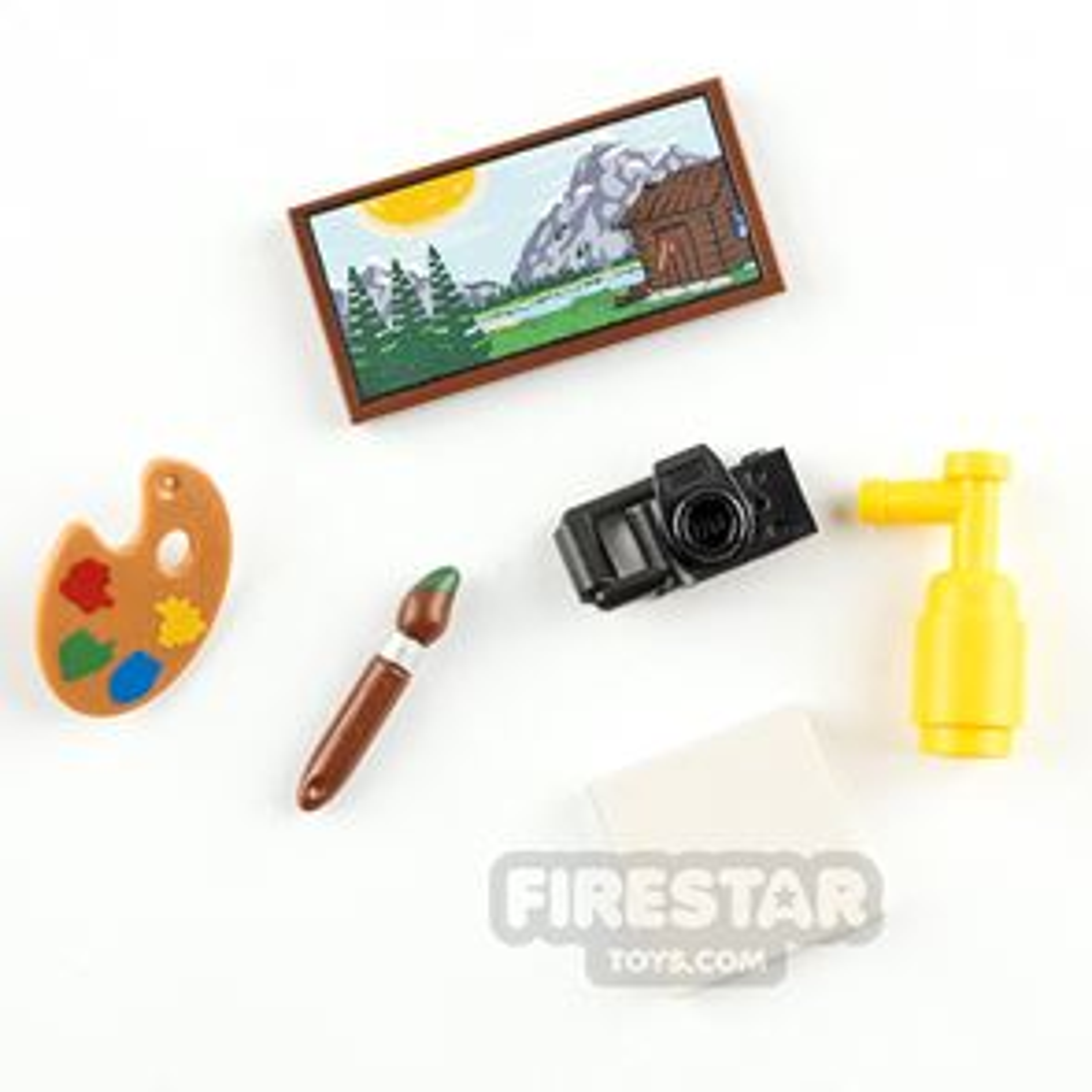 LEGO Accessory Pack Art