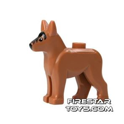 LEGO Animals Mini Figure - German Shepherd Dog - Medium Dark Flesh