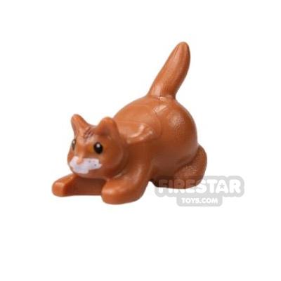 LEGO Animals Mini Figure Crouching Cat