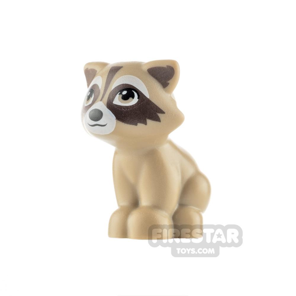 LEGO Animals Minifigure Raccoon with Black Nose
