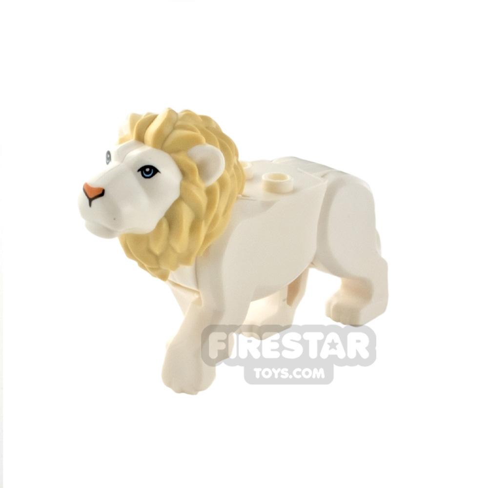 LEGO Animal Minifigure Lion with Tan Mane