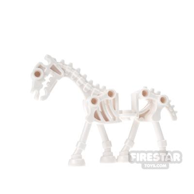 LEGO Animals Mini Figure - White Skeletal Horse