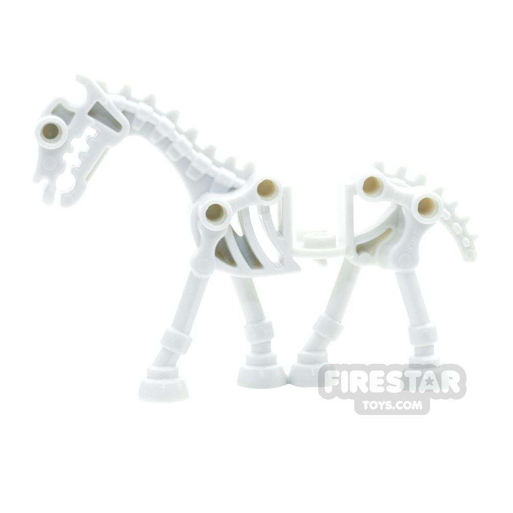 LEGO Animals Mini Figure - Skeletal Horse -  Glow in the Dark