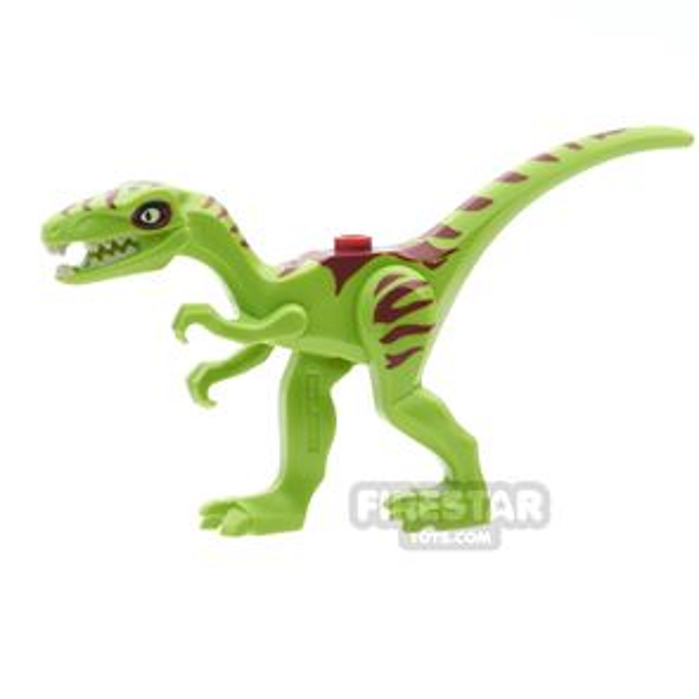 LEGO Animals Mini Figure - Dinosaur - Coelophysis - Lime