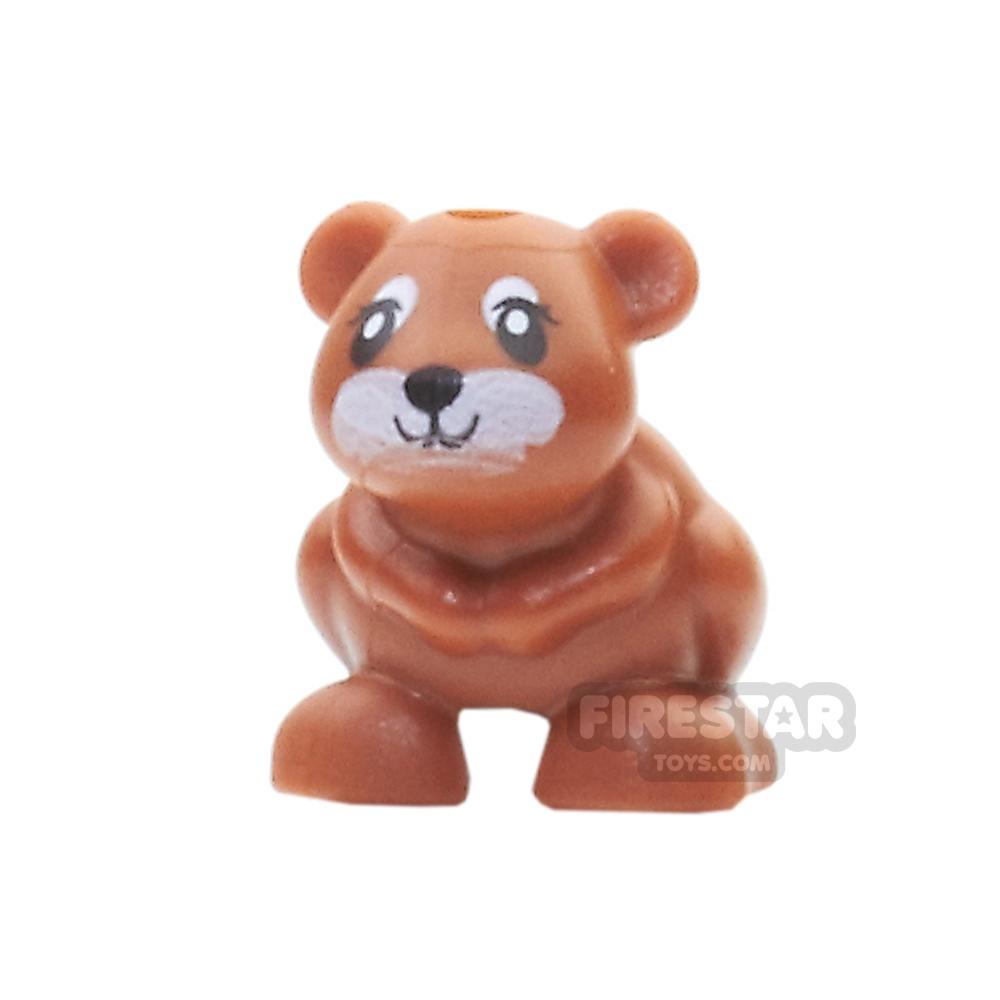 LEGO Animals Mini Figure - Hamster - Dark Orange