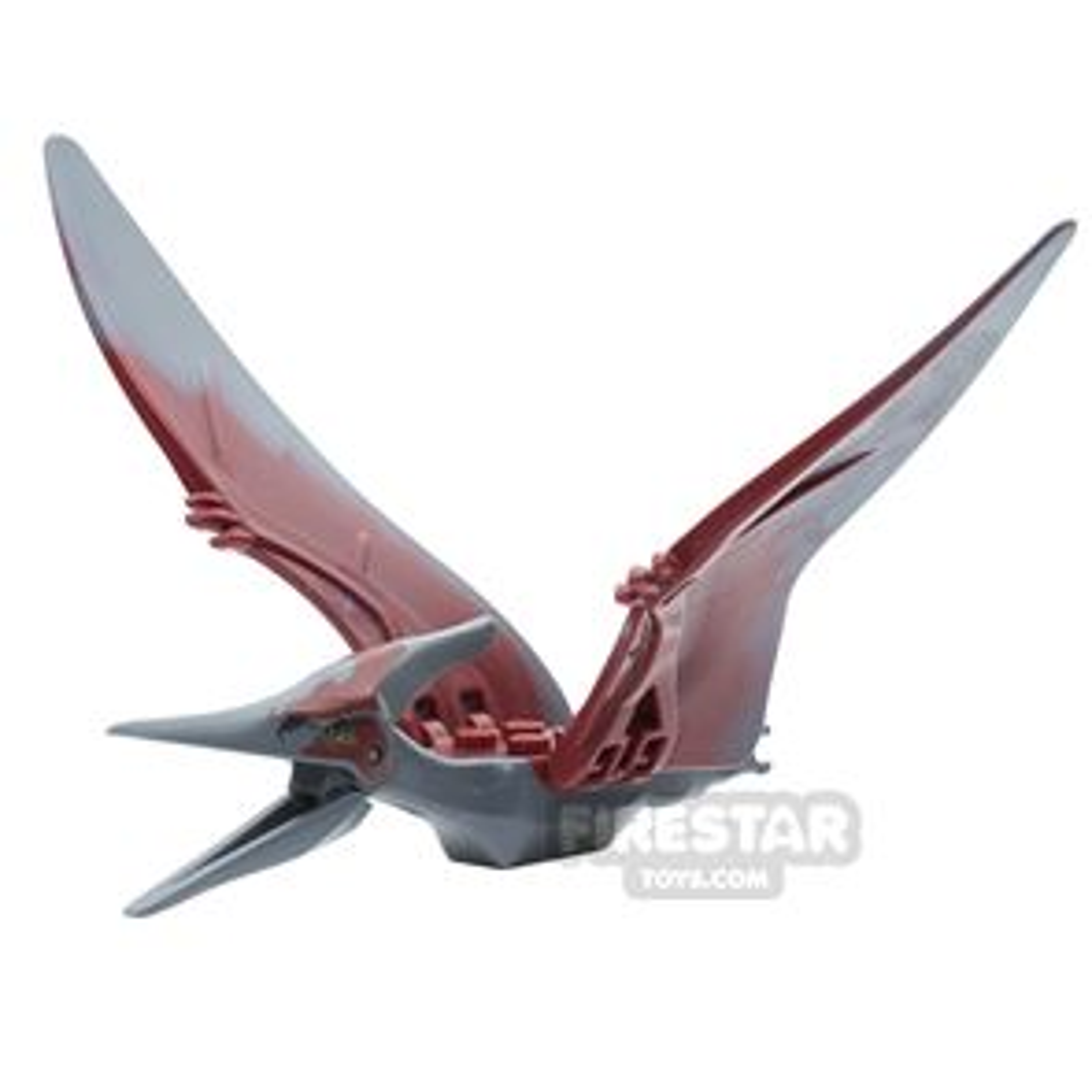LEGO Animals Minifigure Pteranodon Dark Red Back