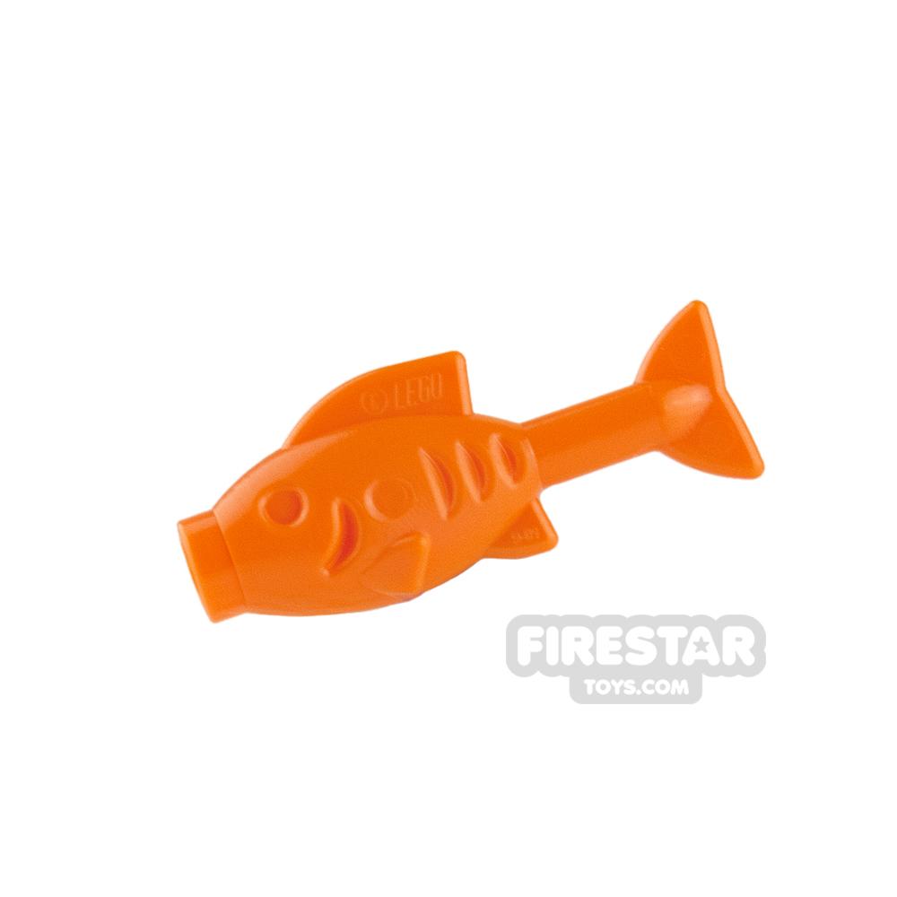 LEGO Animals Mini Figure - Fish - Orange