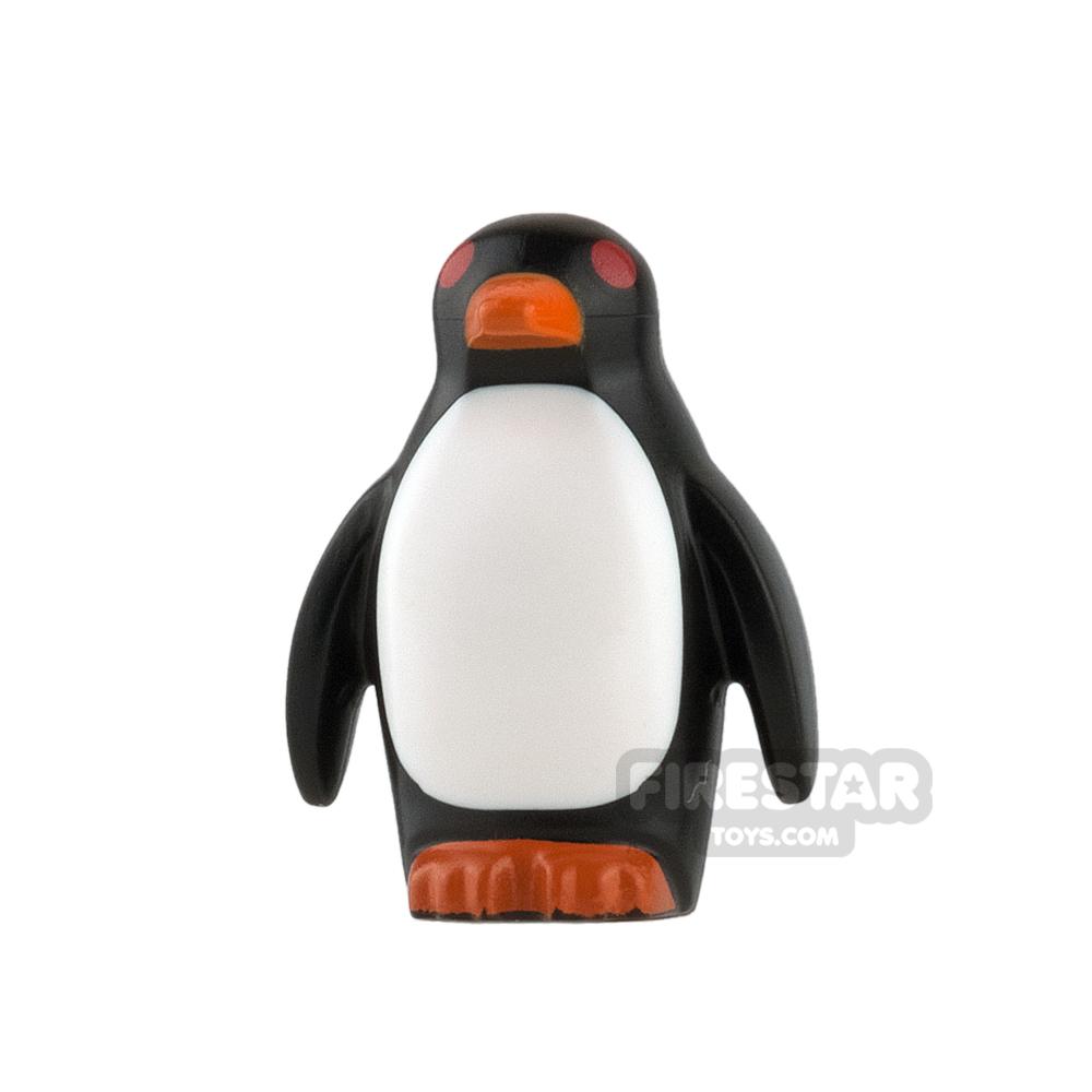 LEGO Animals Mini Figure - Penguin - Red Eyes