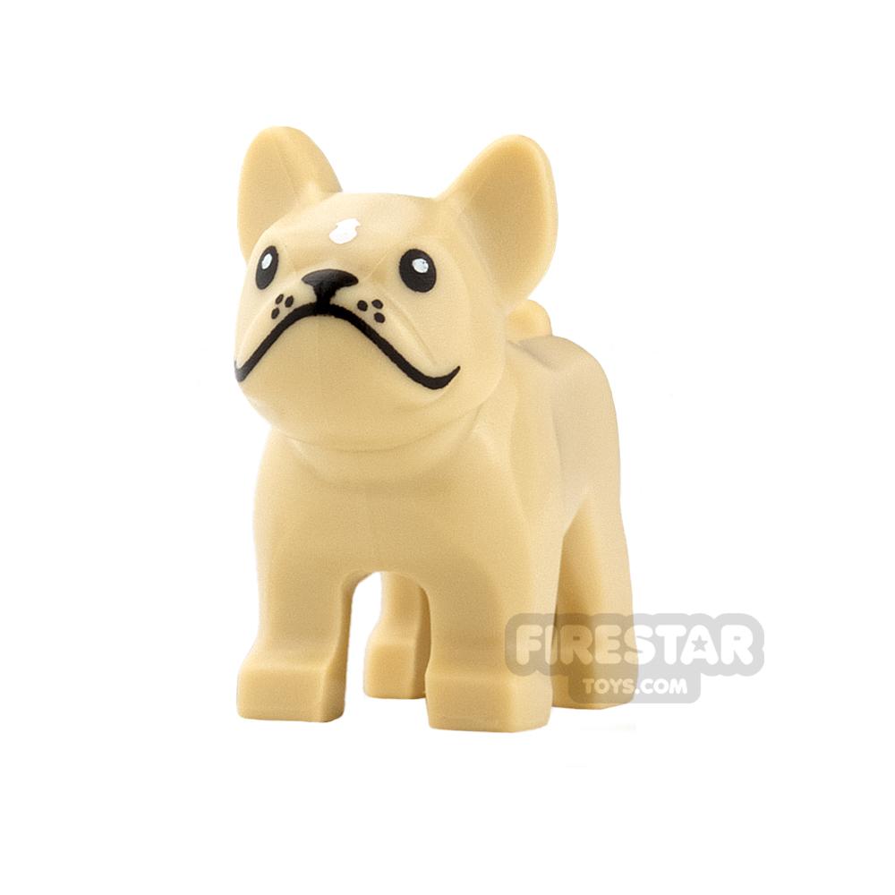 LEGO Animals Mini Figure - French Bulldog - Tan