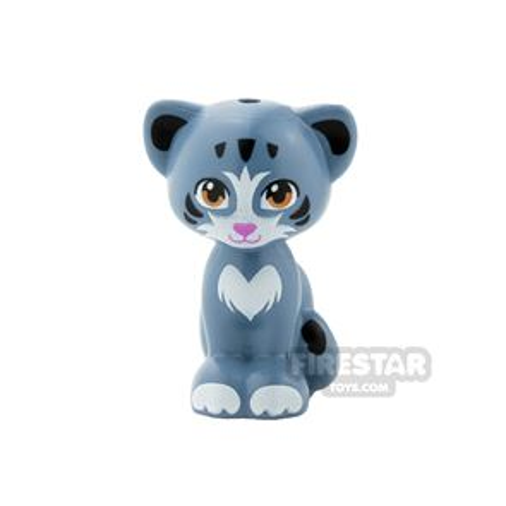 LEGO Animals Mini Figure - Cat - Medium Dark Flesh Eyes - Chico