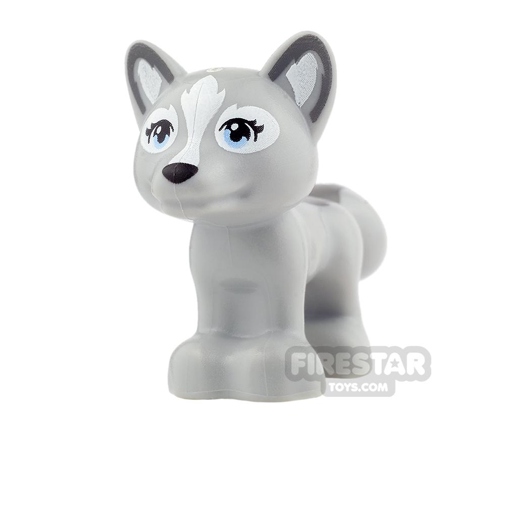 LEGO Animals Mini Figure - Fox - Light Blueish Gray