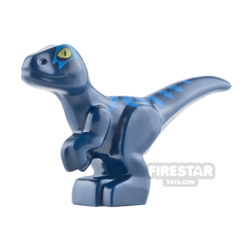 LEGO Animals Mini Figure - Baby Raptor Dinosaur - Dark Blue