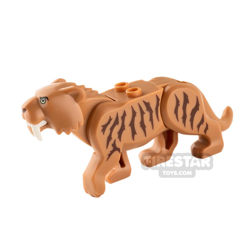 LEGO Animals - Saber Tooth Tiger - Medium Dark Flesh