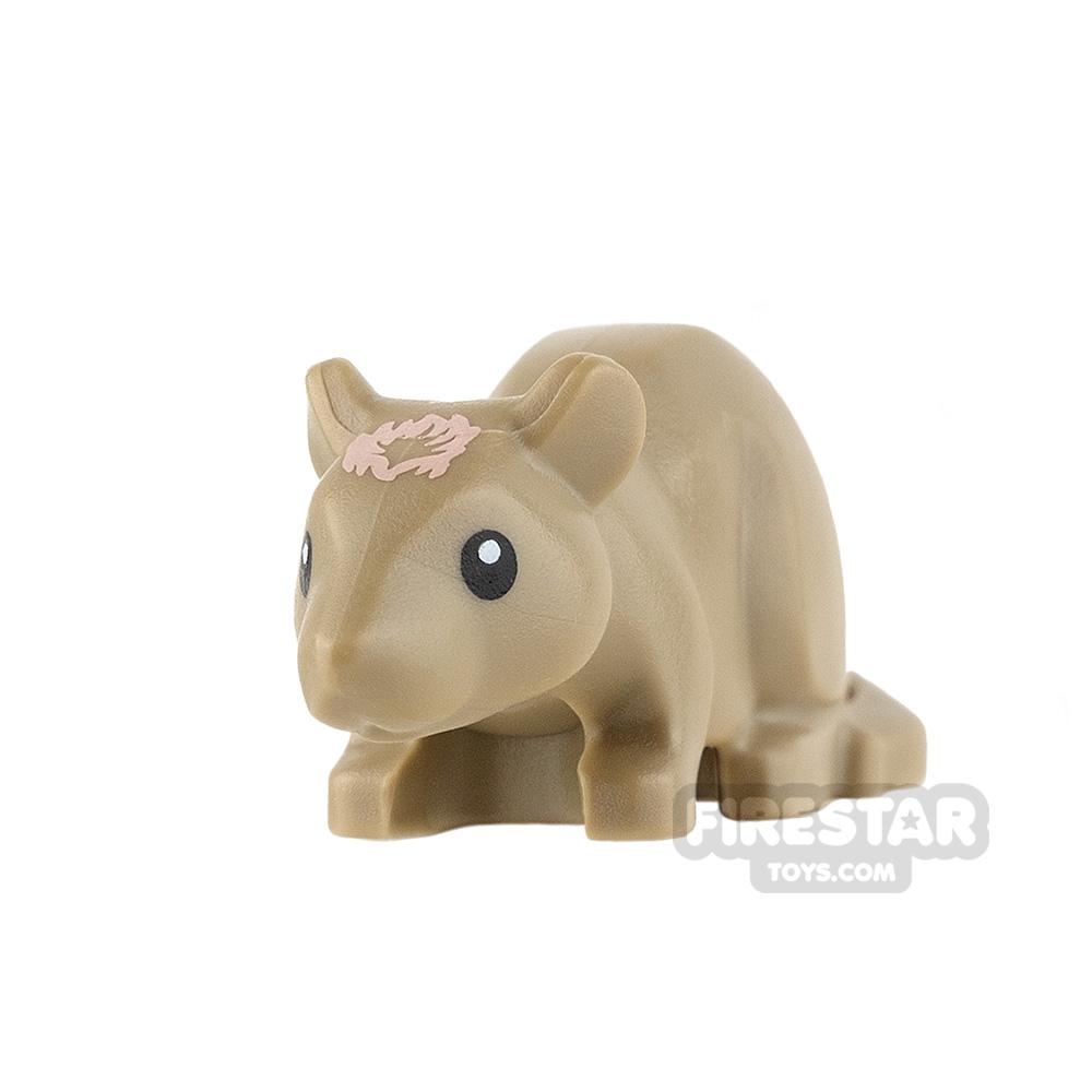 LEGO Animals Mini Figure - Rat - Dark Tan