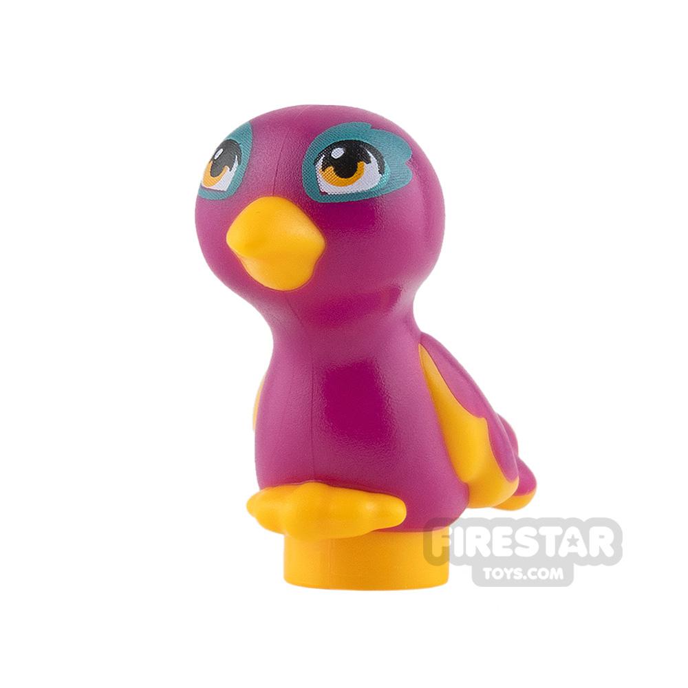 LEGO Animals Mini Figure - Bird - Magenta