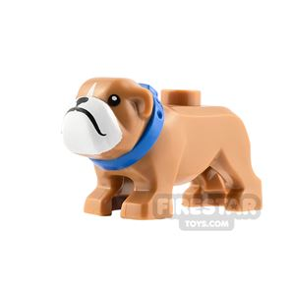 LEGO Animals Minifigure Bulldog with Collar