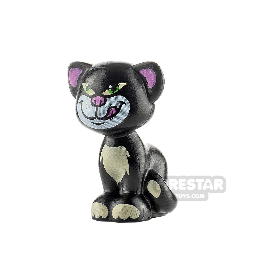 LEGO Animals Minifigure Cat Lime Eyes