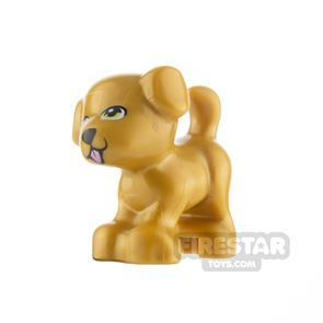 LEGO Animals Minifigure Puppy with Tongue Stickign Out