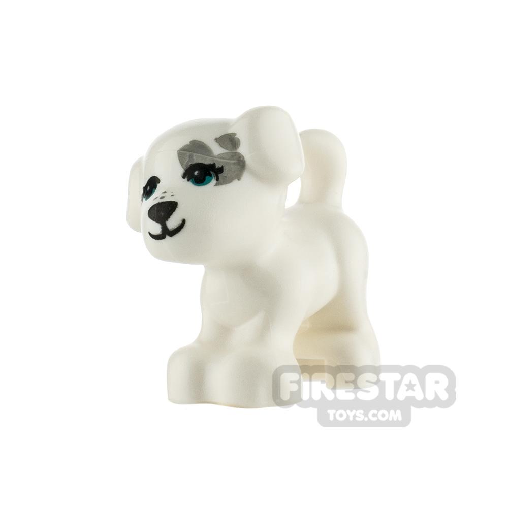 LEGO Animals Minifigure Puppy with Medium Azure Eyes