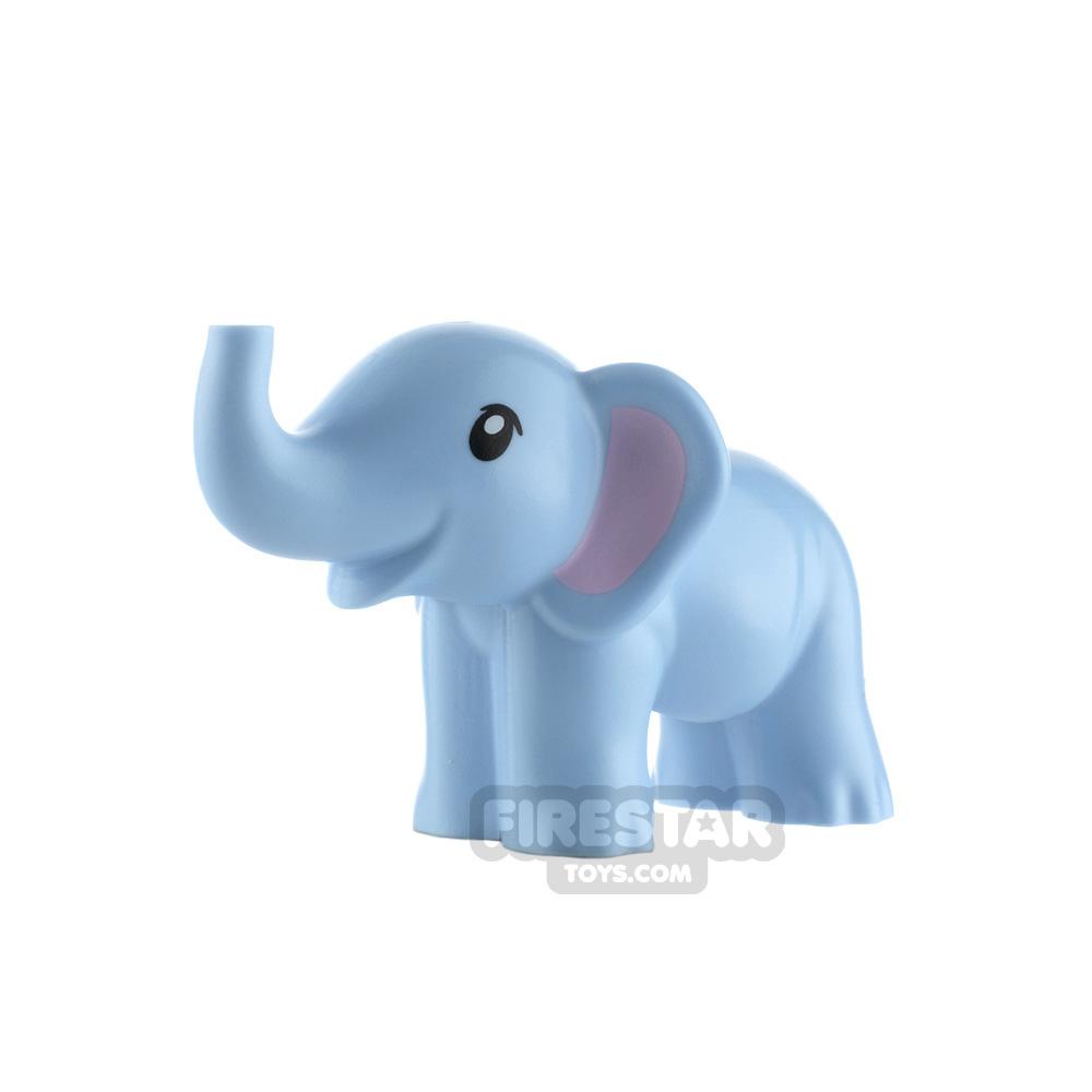 LEGO Animals Minifigure Baby Elephant Trunk Up