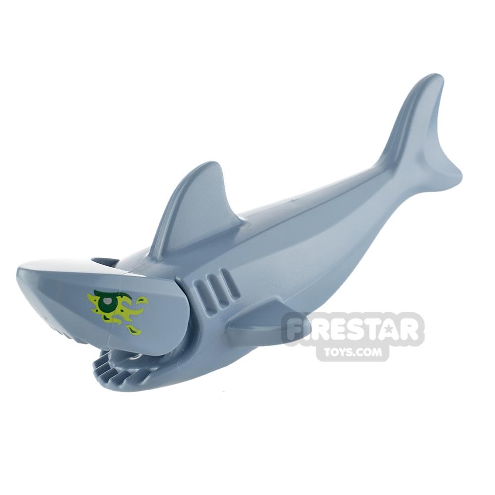LEGO Animals Minifigure Shark with Gills and Slime