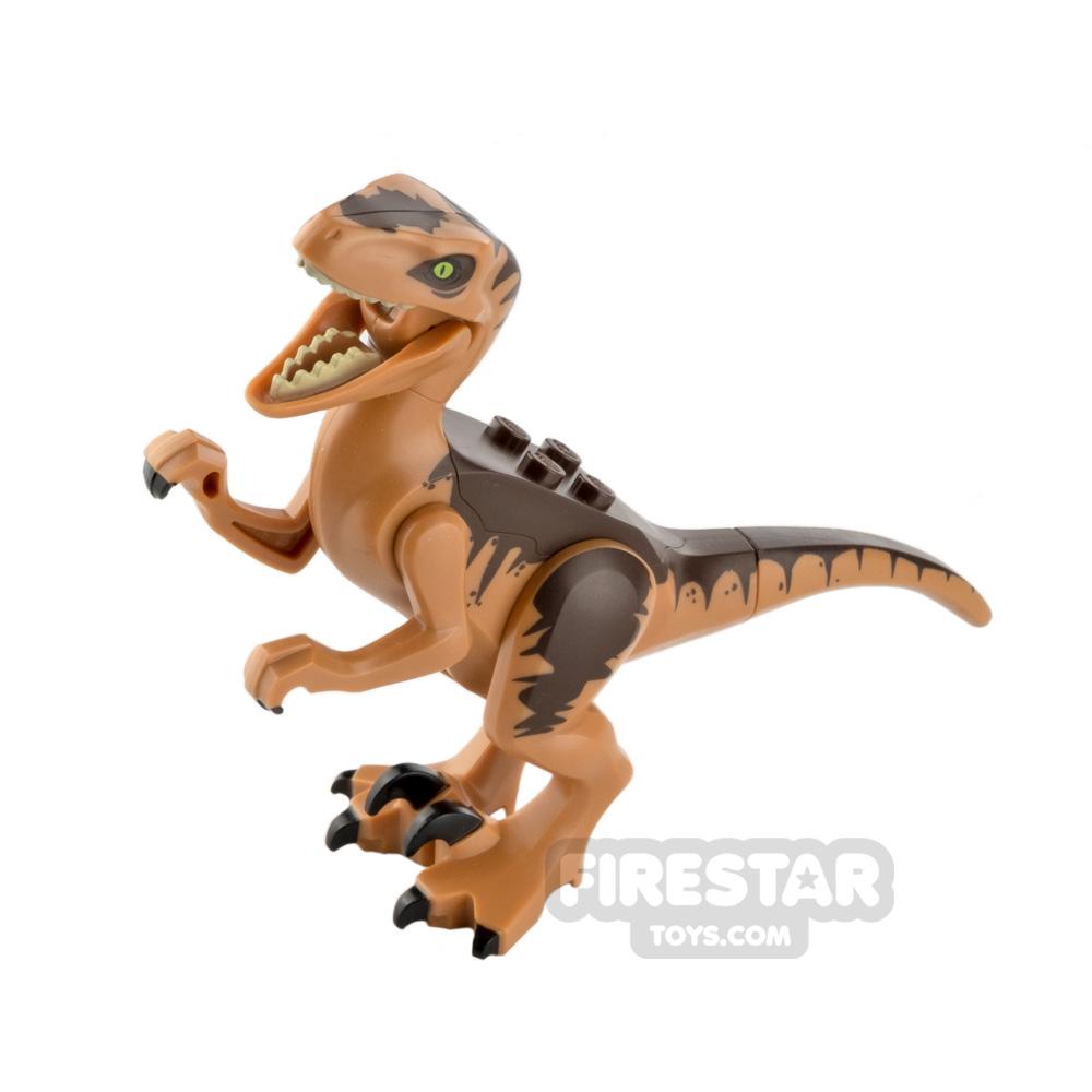LEGO Animals Minifigure Raptor Dark Brown Back