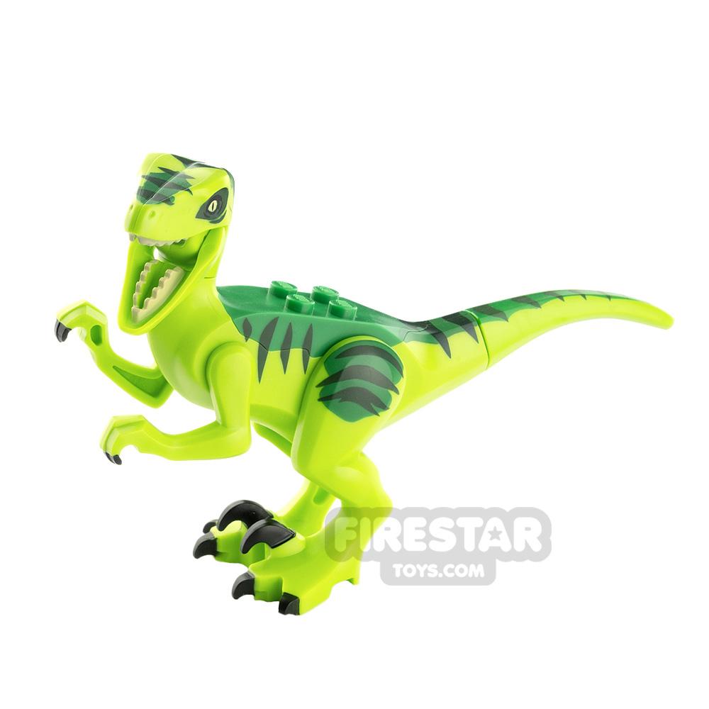 LEGO Animals Minifigure Raptor Green Back