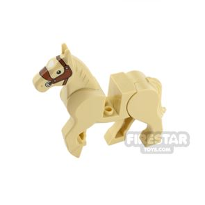 LEGO Animals Minifigure Horse With Moveable Back Legs