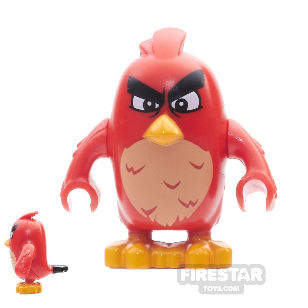 LEGO Angry Birds Mini Figure - Red - Narrow Eyes
