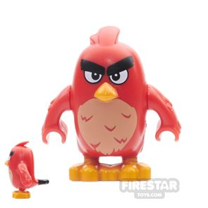 LEGO Angry Birds Mini Figure - Red - Rounded Eyes