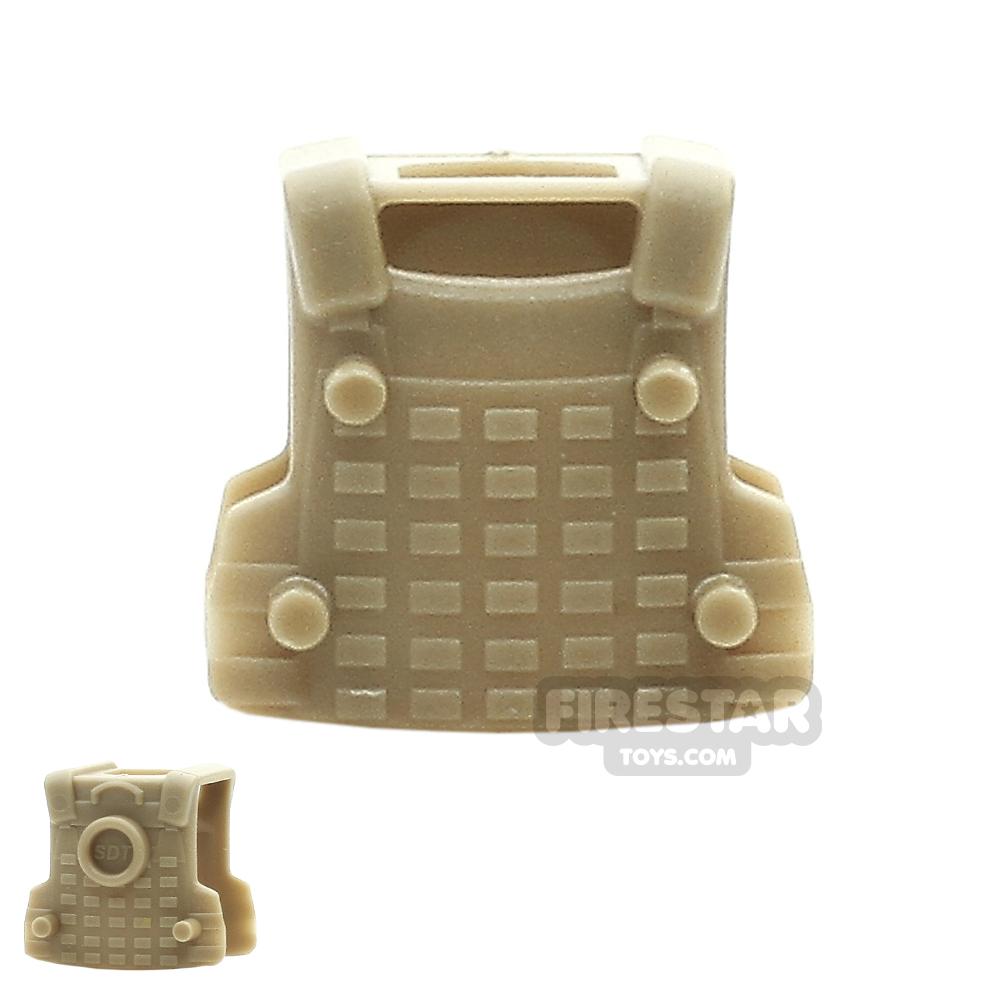 SI-DAN - BS12 Tactical Vest - Dark Tan