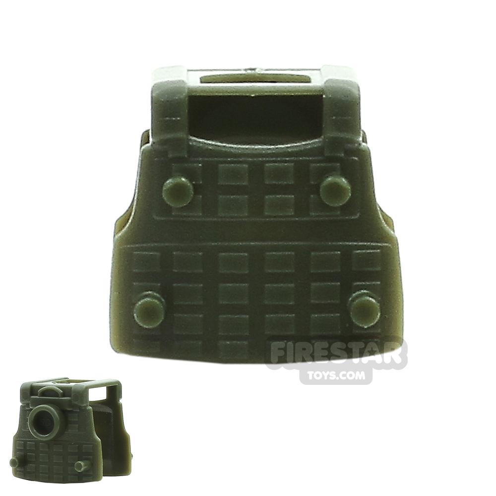 SI-DAN - BS12 Tactical Vest - Tank Green
