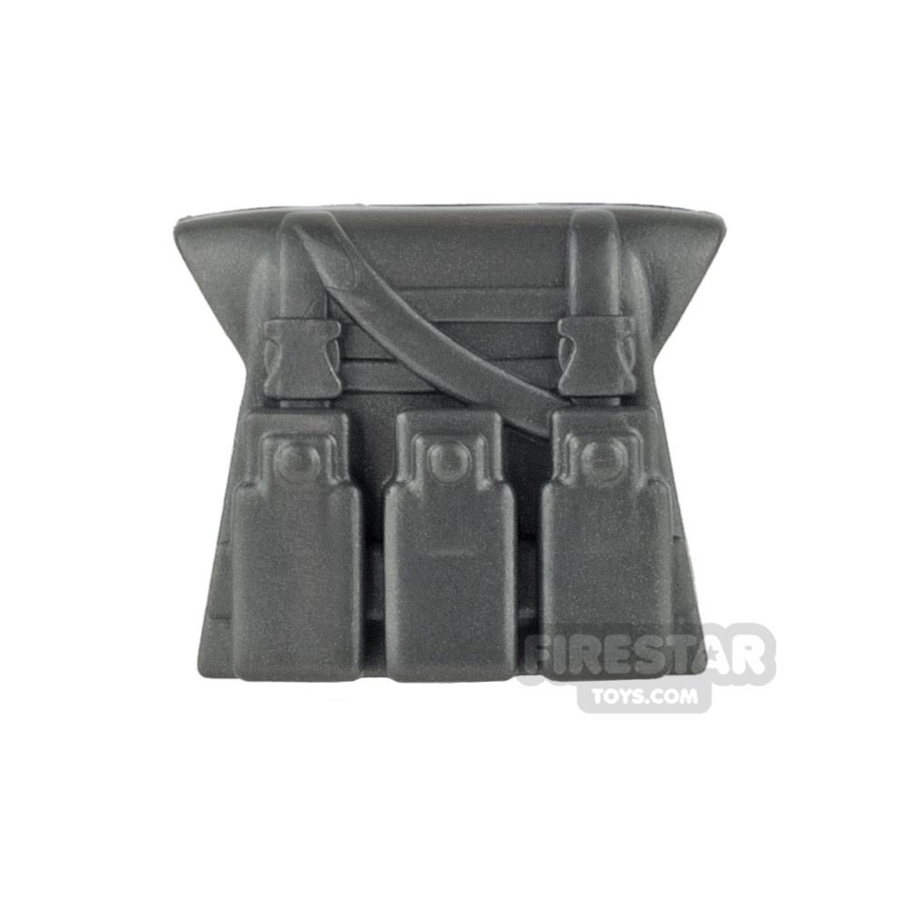 BrickWarriors - Military Vest - Steel