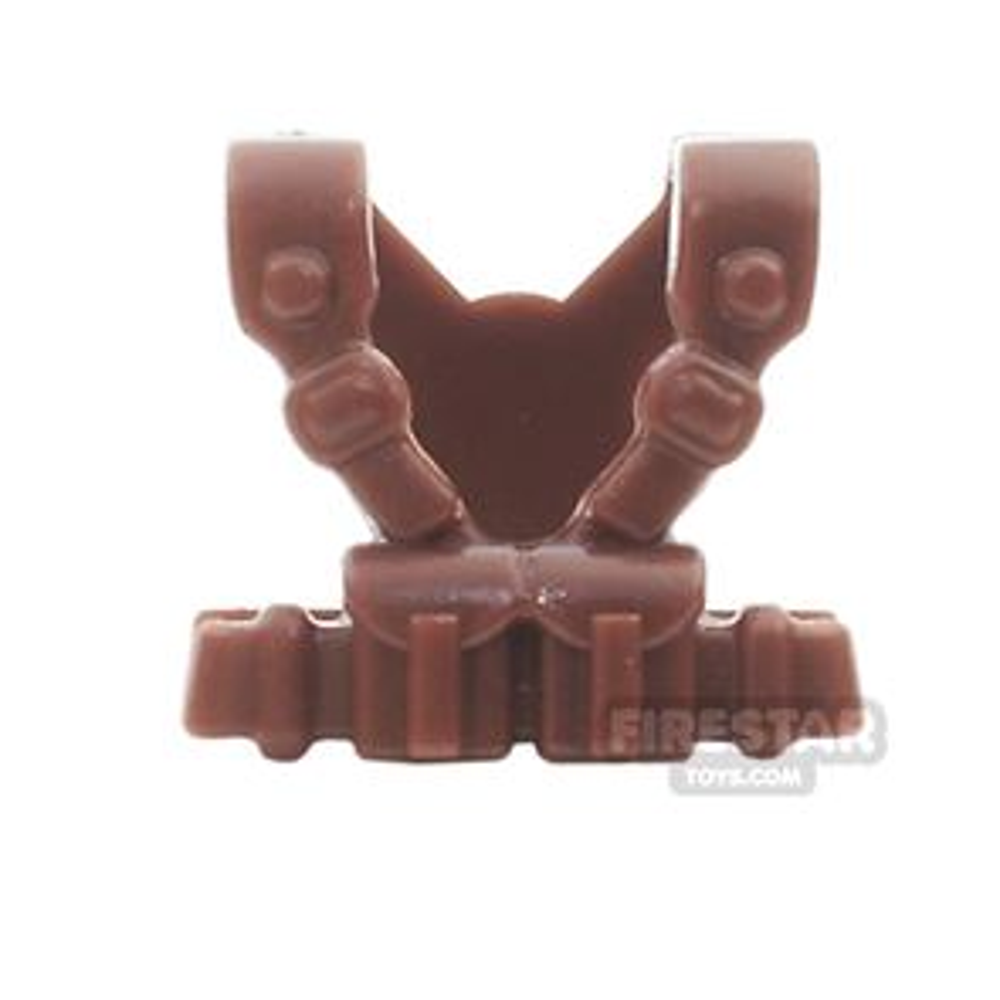 BrickWarriors - Italian Suspenders - Brown