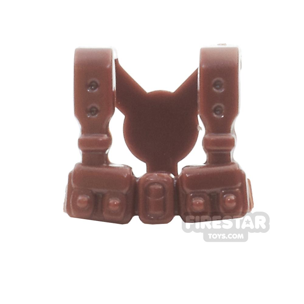 BrickWarriors - French Suspenders - Brown