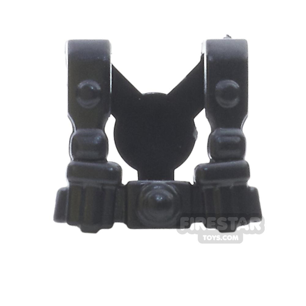BrickWarriors - German Infantry Suspenders - Black