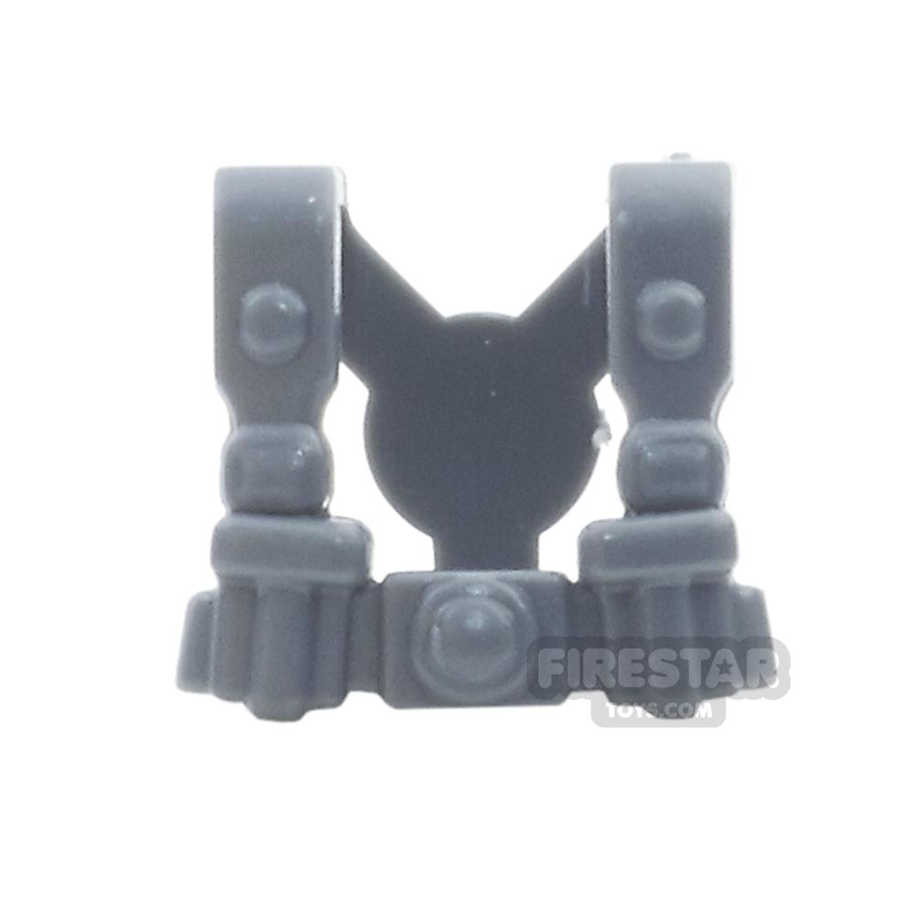BrickWarriors - German Infantry Suspenders - Dark Gray