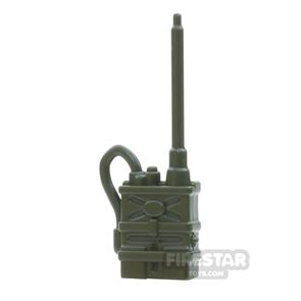 BrickWarriors - Radio Pack - Army Green