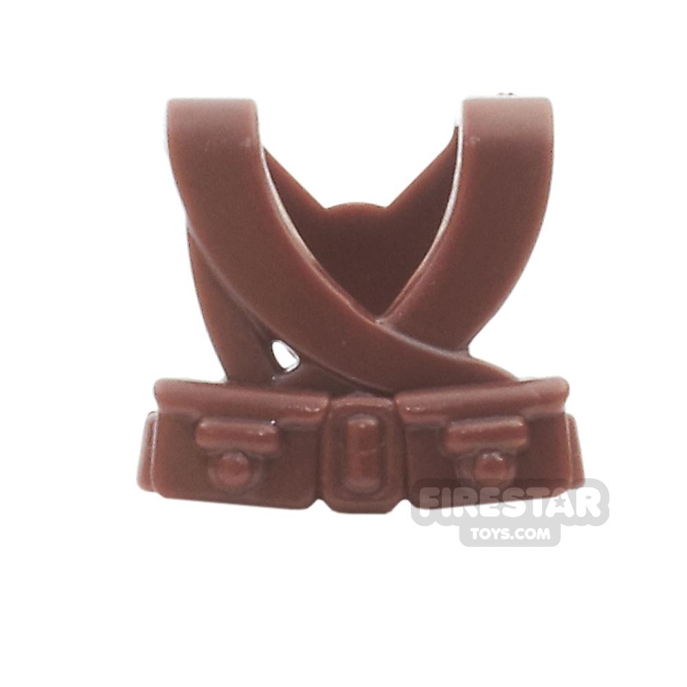 BrickWarriors - Japanese Suspenders - Brown