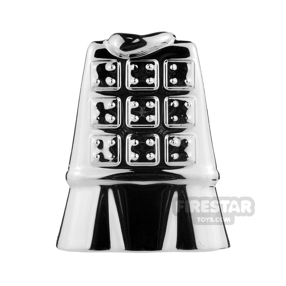BrickTW - Terra Cotta Warrior Armour - Chrome Silver